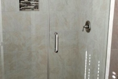 Master bathroom renovation in Houston after restoration