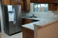 Kitchen after restoration