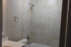 Master bathroom after restoration