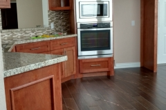 Kitchen renovation in Katy, TX: new stainless steel appliances