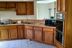 Before: Kitchen renovation in Katy, TX