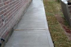 ADA remodeling in Katy, TX and construction of residential sidewalk