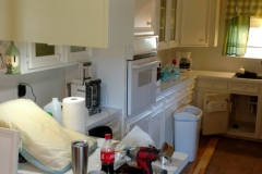 Before: Kitchen renovation needed in Jersey Village home