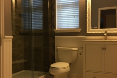 After: Updated bathroom renovation in Sugar Land