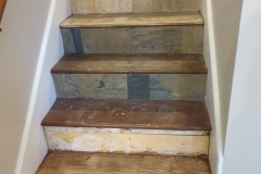 Before: Staircase renovation