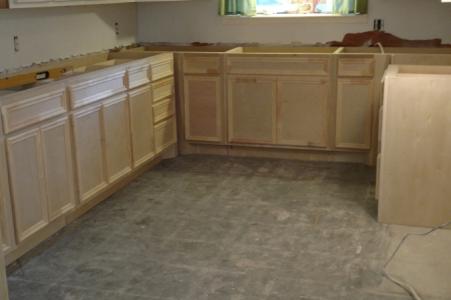 Kitchen renovation in Houston
