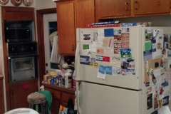 Before: Kitchen renovation in Katy, TX