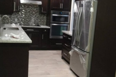 After: Custom kitchen remodeling in Katy, TX, new appliances
