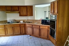 Before: Kitchen remodeling in Houston