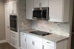 After: Custom kitchen remodeling
