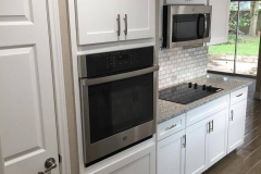 After: Kitchen remodeling stainless steel appliances