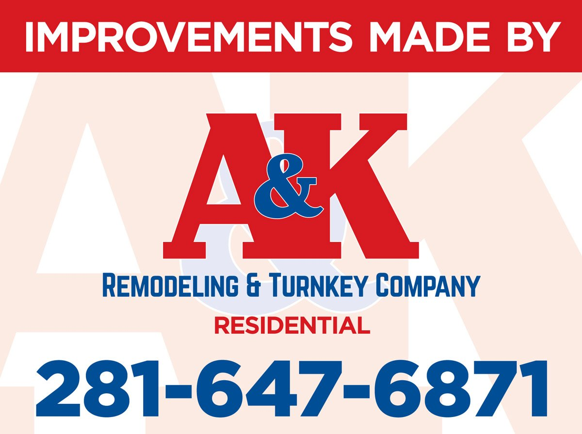 Remodeling contractor in Houston: A&K Remodeling & Turnkey