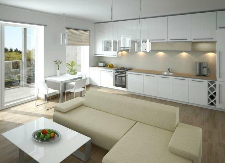 Kitchen remodeling Houston 3D rendering of Open Concept kitchen design